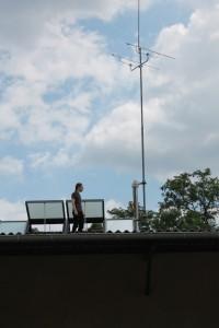 Freifunk und Amateurfunk teilen sich einen Mast