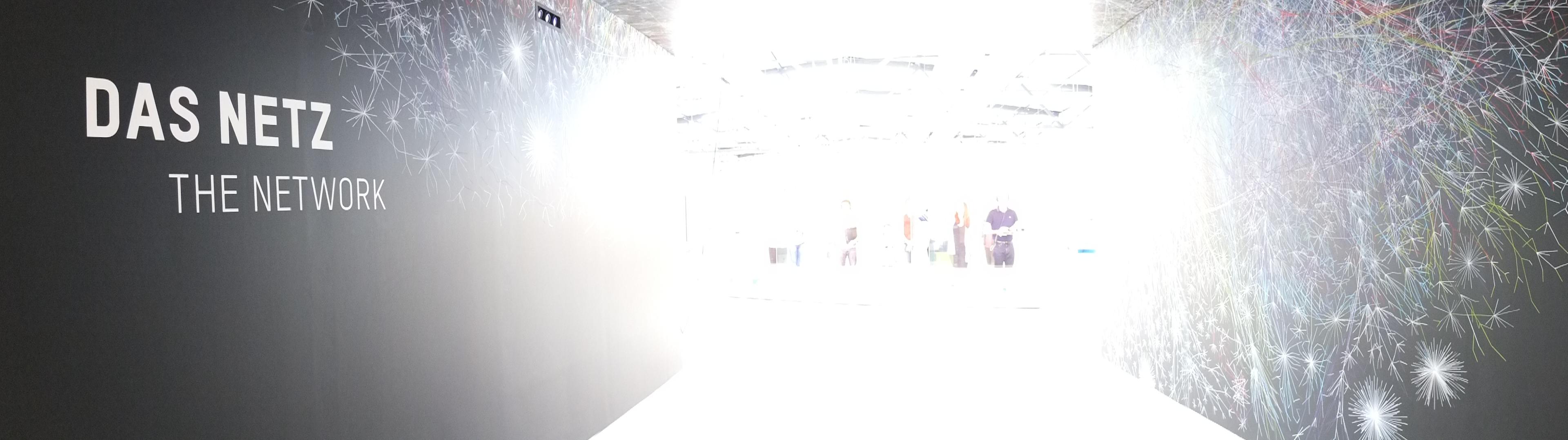 Eingangsbereich der Netz-Ausstellung