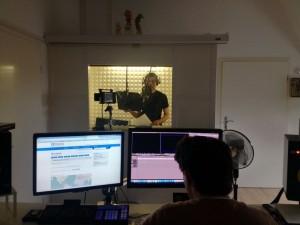 Christoph Scheermann ist die deutsche, männliche Stimme in der kommenden Netz-Ausstellung. Foto: SDTB / Rüsewald